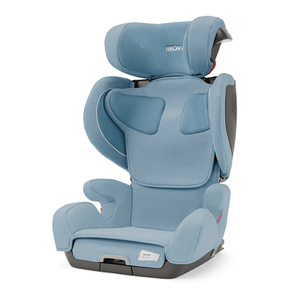Recaro highback booster seats Recaro Mako 2 Elite Prime Frozen Blue 00089042340050