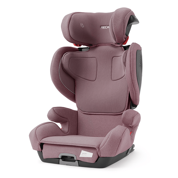 Recaro highback booster seats Recaro Mako 2 Elite Prime Pale Rose 00089042330050