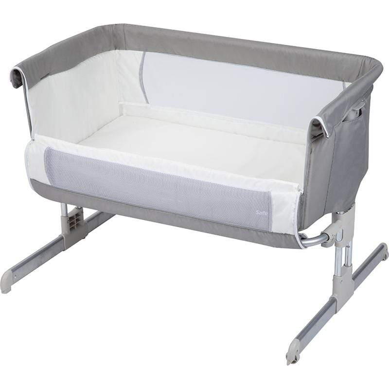 Safety 1st cribs Safety 1st Calidoo Co-Sleeping Crib Warm Grey 2105191300