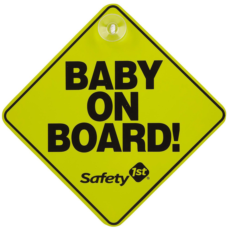 Safety 1st in car comfort & safety Safety 1st Baby on Board Car Sign 38000760