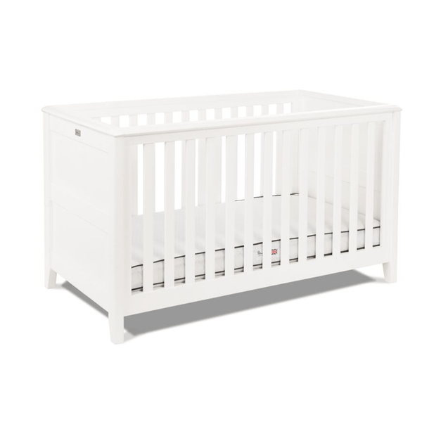 Silver Cross baby cot beds Silver Cross Nostalgia Cotbed White SX879