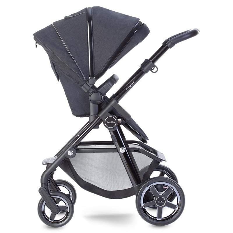 Silver Cross baby pushchairs Silver Cross Pacific Autograph Pram System Ink SX2209.BN