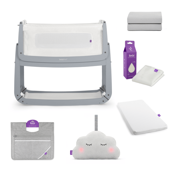 SnuzPod cribs SnuzPod 3 Crib Bundle Dove Grey 6486-DVE
