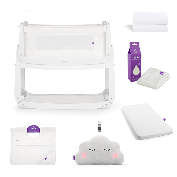 SnuzPod cribs SnuzPod 3 Crib Bundle White 6487-WHT