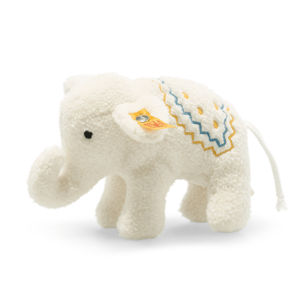 Steiff soft animals Steiff Little Elephant with Rattle 241147