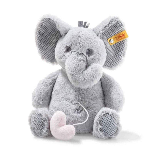 Steiff soft animals Steiff Soft Cuddly Friends Ellie Elephant With Music Box 241765