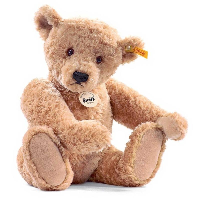 Steiff teddy bears Steiff Elmar Teddy Bear 40cm Golden Brown 022463