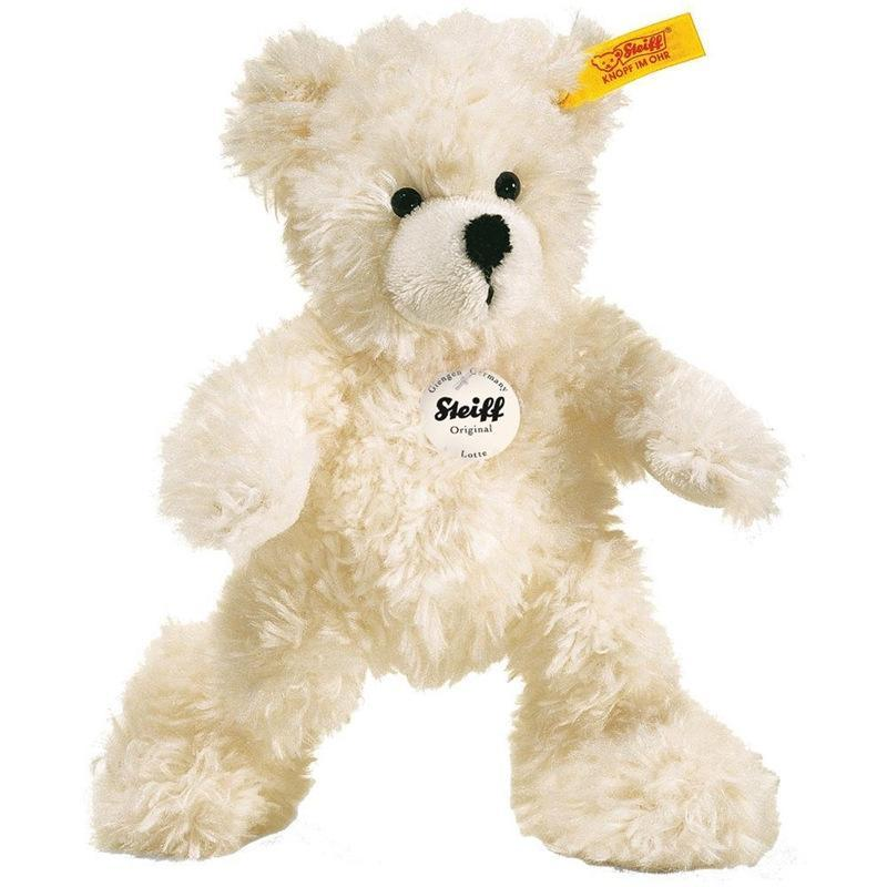 Steiff teddy bears Steiff Lotte Teddy Bear 18cm White 111365