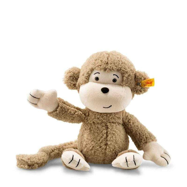Steiff teddy bears Steiff Soft Cuddly Friends Brownie Monkey 060304
