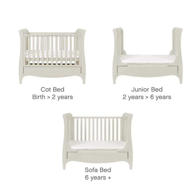 Tutti Bambini cot bed room sets Tutti Bambini Roma 2 Piece Roomset Linen 059RS1/06