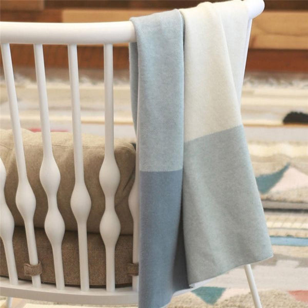 Uppababy pram & moses blankets Uppababy Knit Blanket Blue 0918-BLA-WW-BLUE