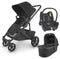Uppababy travel systems UPPAbaby Cruz v2 Cabriofix Travel System Jake 6261-JKE