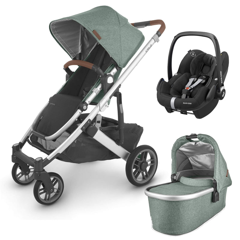 Uppababy travel systems UPPAbaby Cruz v2 Pebble Pro Travel System Emmett 6270-EMT