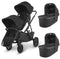 Uppababy twin & tandem prams & pushchairs Uppababy Vista V2 Twin Pushchair Jake 6246-JKE