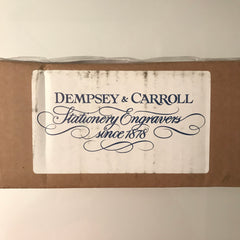 Dempsey & Carroll Personalized Stationery