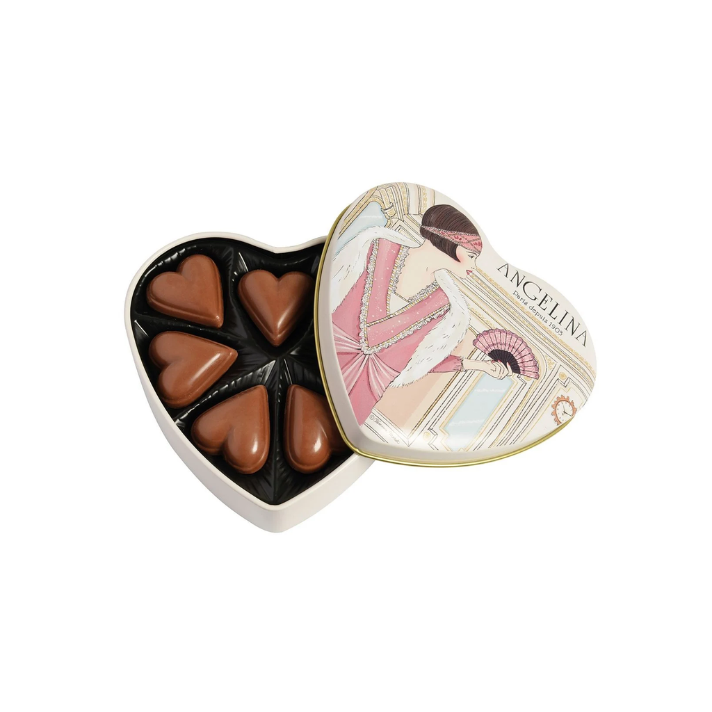 Angelina Chocolate Heart Box