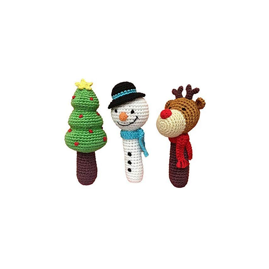 Cheengoo Holiday Rattles