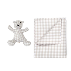 De Buci Baby Blanket and Matching Bear
