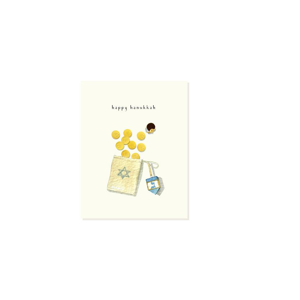 Felix Doolittle Dreidel Greeting Cards