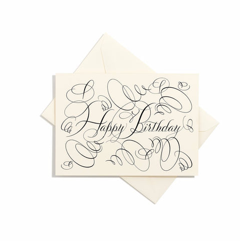 Bernard Maisner Birthday Card