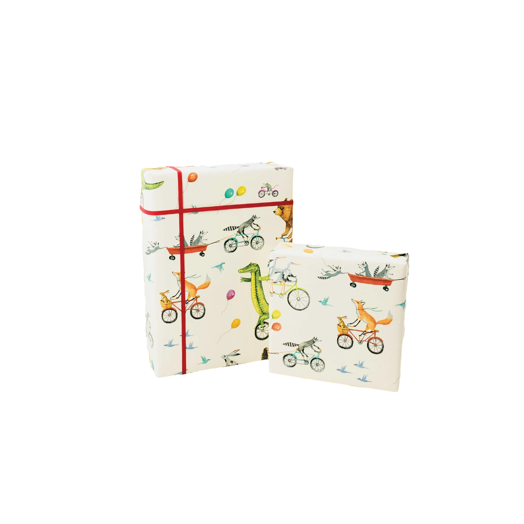 Hester and Cook Nice Wheels Wrapping Paper