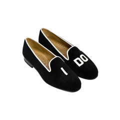 "Stubbs & Wootton ""I Do"" Slippers"