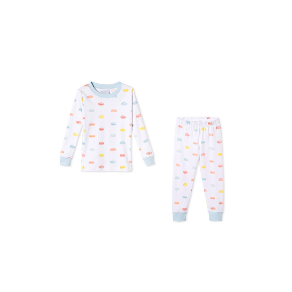 Kids Macaron Pajama Set From Lake