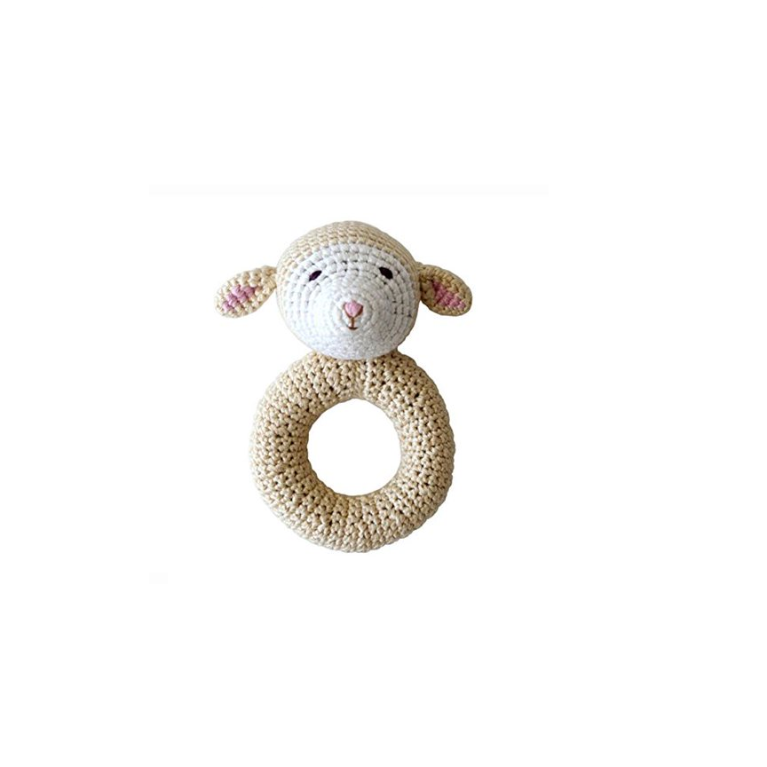 Cheengoo Organic Hand Crocheted Rattle