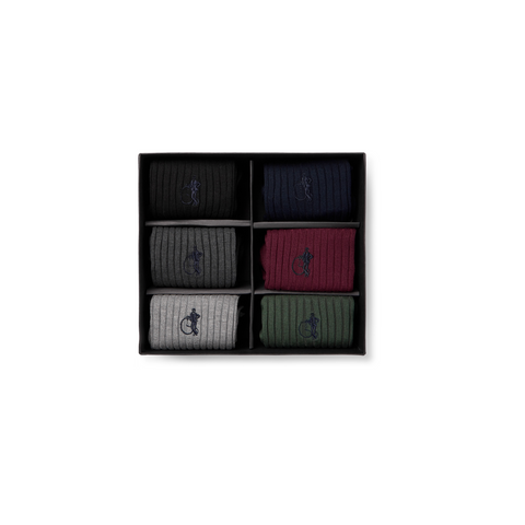London Sock Co. 6 Pack