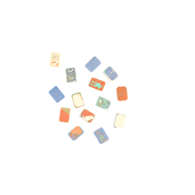 Marble Erasers