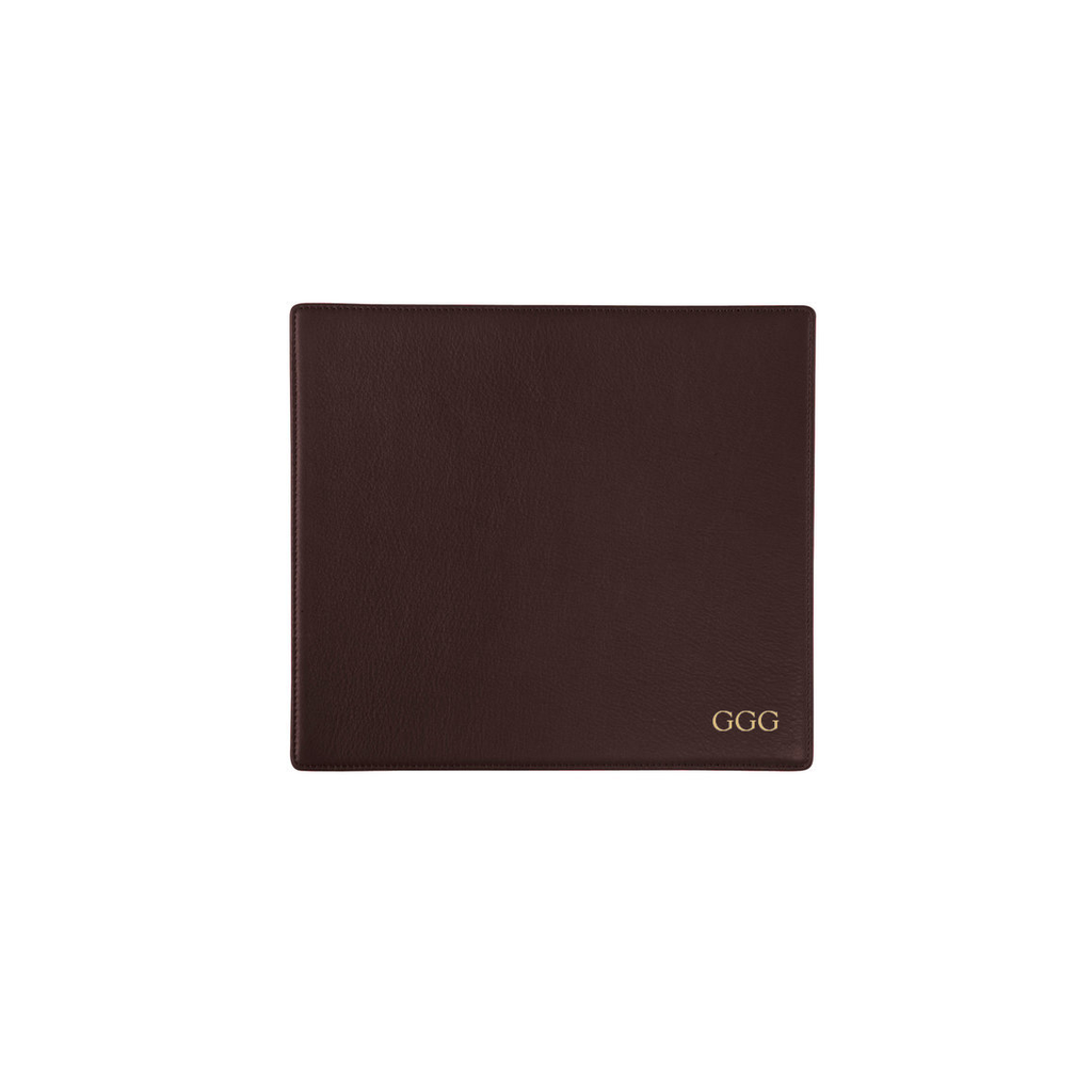 Leatherology Monogram Mouse Pad
