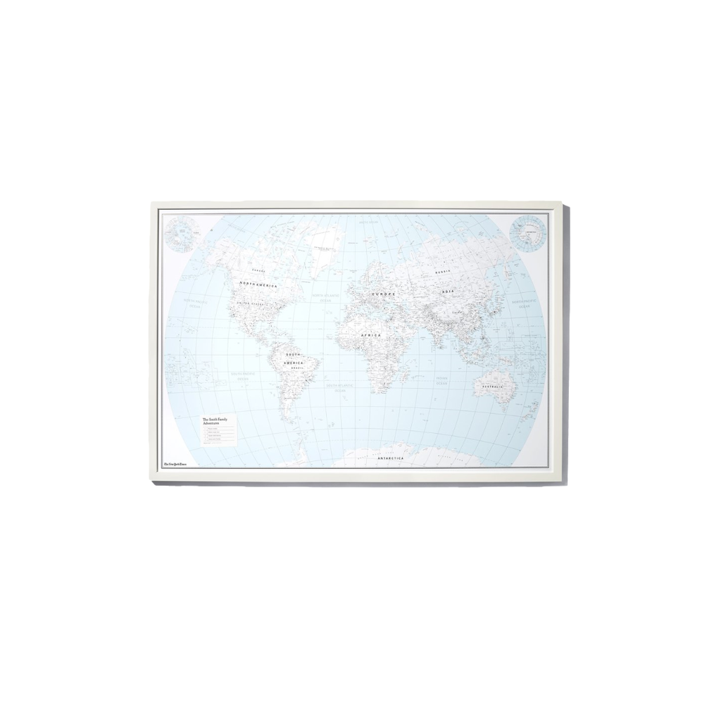 Personalized Map Pin Board