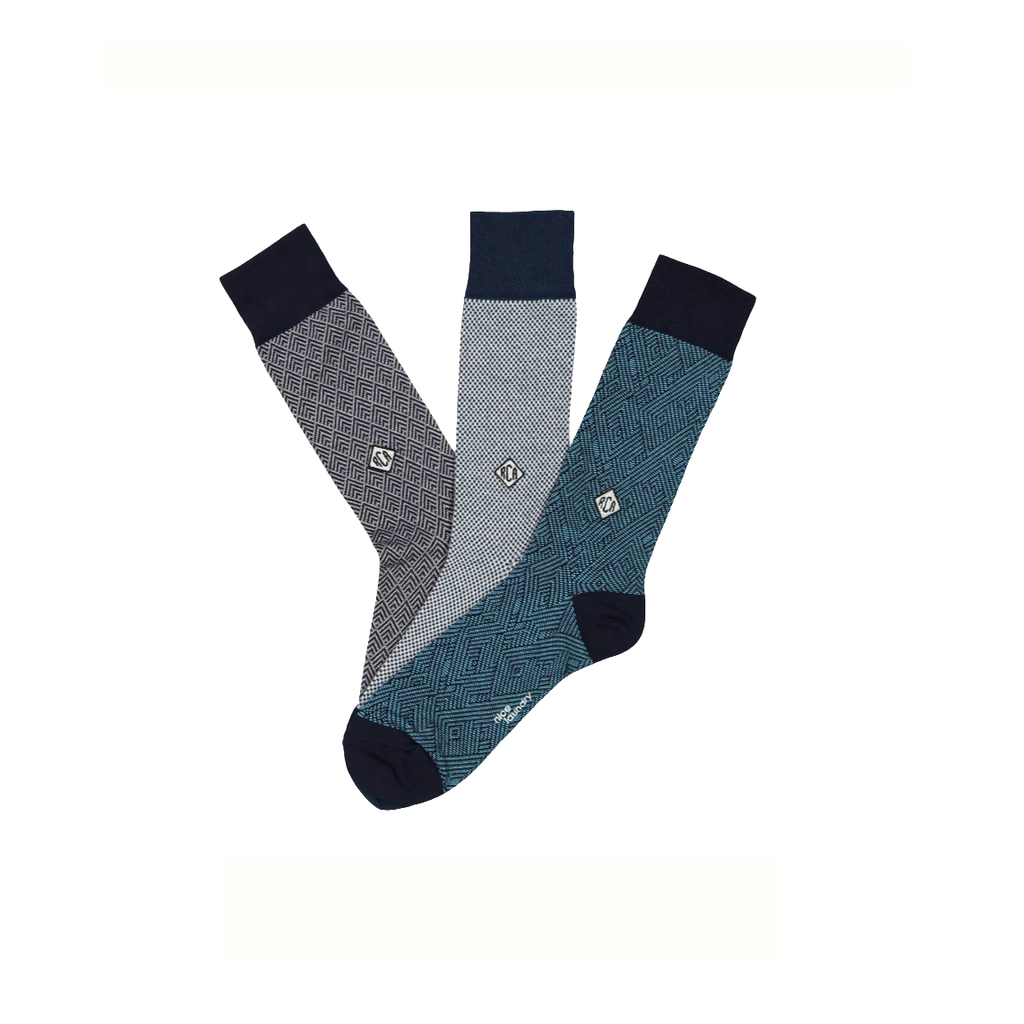 Nice Laundry Herringbone Customized Socks