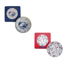 Mottahedeh Picnic Plates (Boxed set of 4)