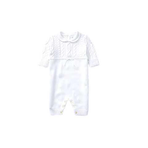 Ralph Lauren Cotton Onesie