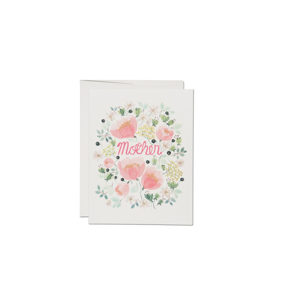 Peonies Mother's Day Card