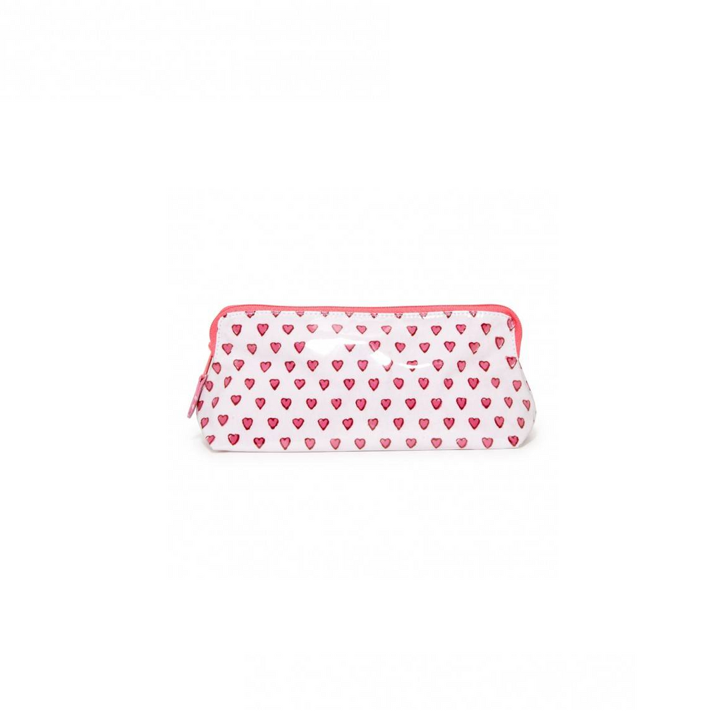 Roller Rabbit Heart Cosmetics Case