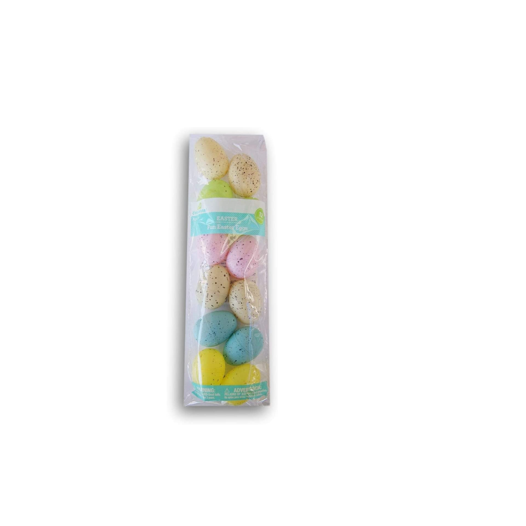 Speckled Fillable Easter Eggs