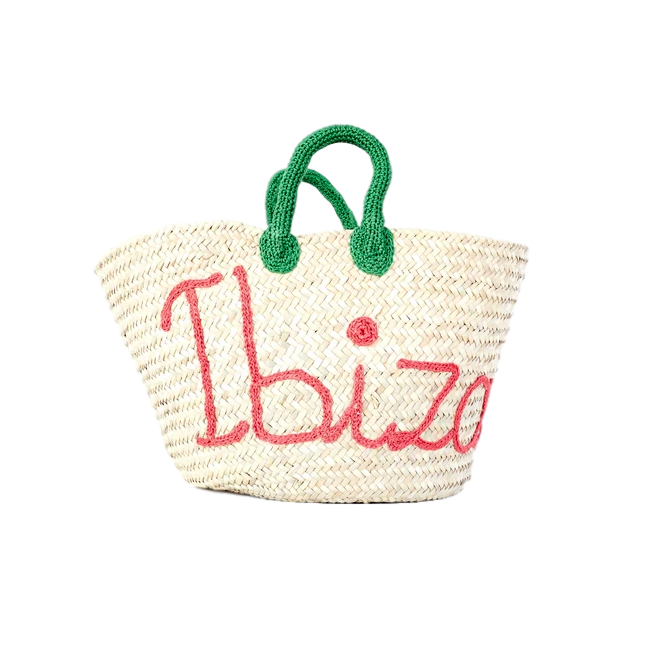 Personalized Straw Bag By Tatoufa