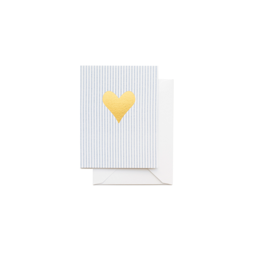 Sugar Paper Ticking Stripe Card