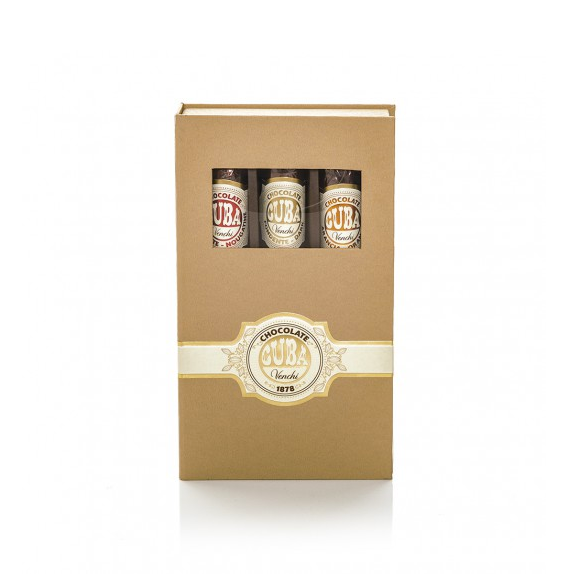 Venchi Chocolate Cigar Sampler Gift Box