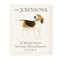 Felix Doolittle Dog Return Address Labels