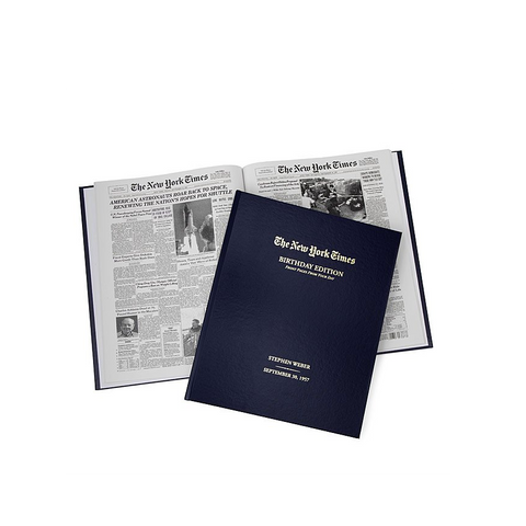 New York Times Birthday Book