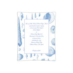 Decoupage Wedding Invitation Tray