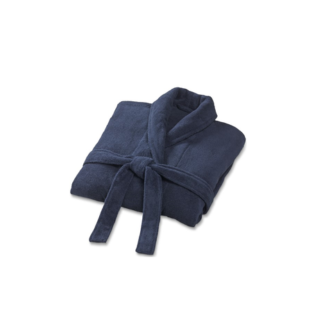 Williams Sonoma Hydrocotton Robe (Navy) With Monogram