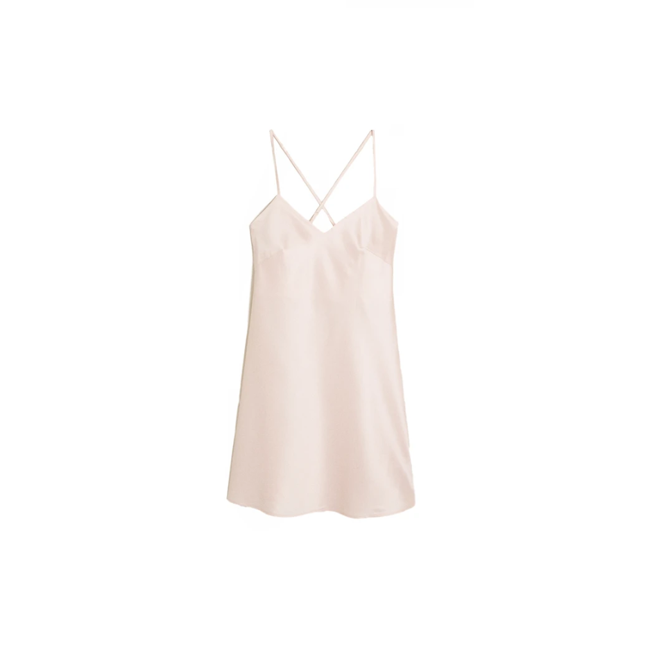 Pink Nightgown from Zara