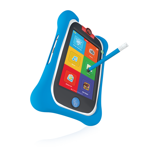 nabi Jr. Bumper with Stylus (Blue)