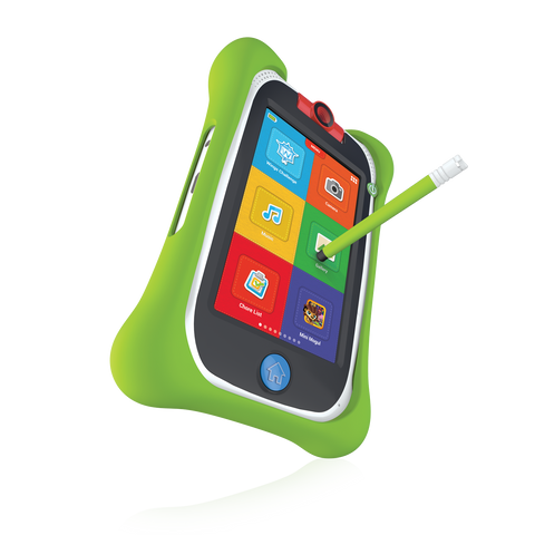 nabi Jr. Bumper with Stylus (Green) - nabi Shop