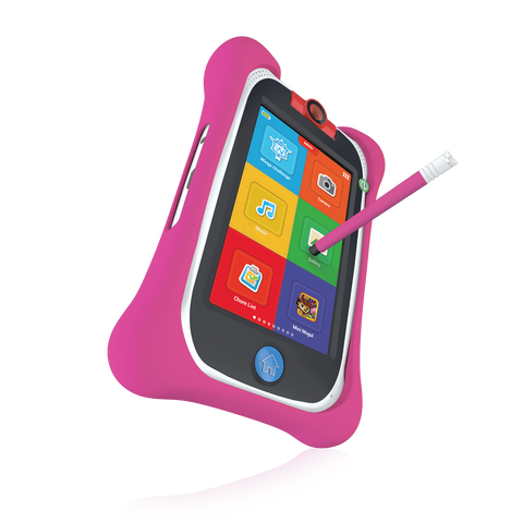 nabi Jr. Bumper with Stylus (Pink)