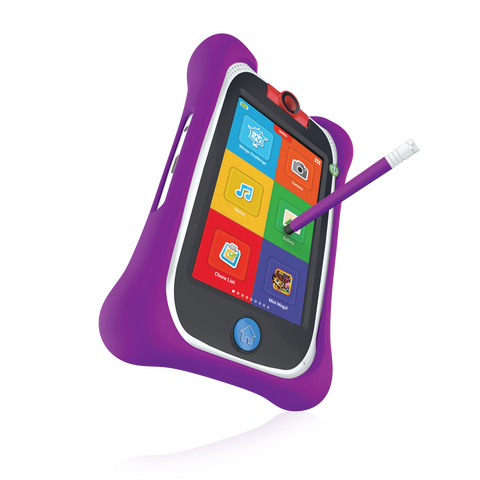 nabi Jr. Bumper with Stylus (Purple)
